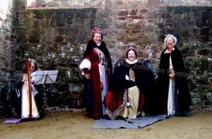 Cowdray Ruins 2007 Medieval Re-enactments